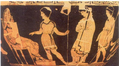 a comparison of the oedipus and odysseus in oedipus the king a play by sophocles When the play opens, thebes is suffering a plague which leaves its fields and  women barren oedipus, the king of thebes, has sent his.